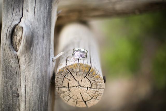 Nossos anéis do CTR - Uma sigla SUD que significa em português Conserva Tua Rota e Choose The Right em inglês. Um lembrete de que devemos sempre escolher o caminho certo.