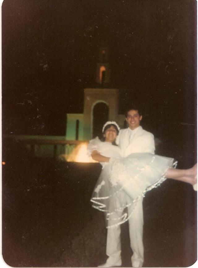 Selamento no Templo de São Paulo - 1987