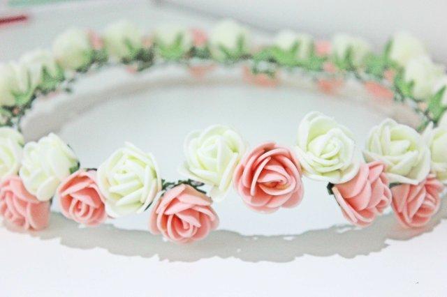 DIY coroa de flores 6