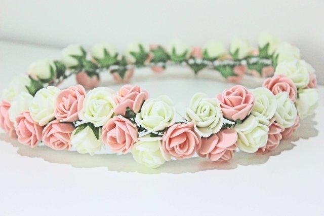 DIY coroa de flores 7